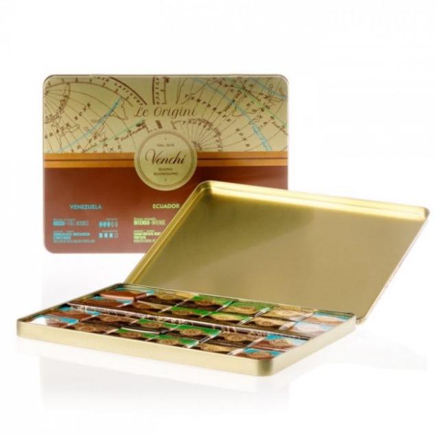 VENCHI SINGLE ORIGIN NAPOLITAINS GIFT BOX