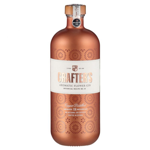 CRAFTER'S AROMATIC FLOWER GIN 44,3% 0,7
