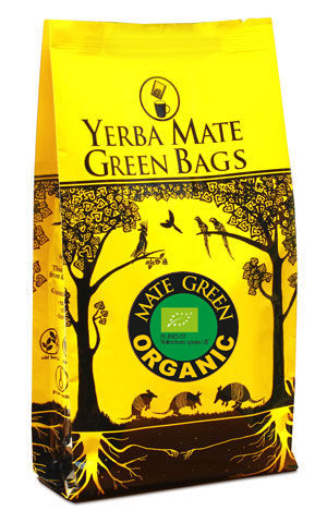 ORGANIC MATE GREEN YERBA MATE BIO (25 x 3 g)