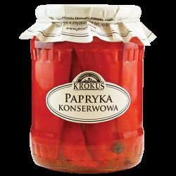 KROKUS PAPRYKA KONSERWOWA 670g
