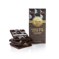 DARK CHOCOLATE BAR 75% CHOCOLIGHT 100G